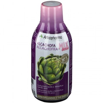 alcachofa mix detox 280 ml arkofluido