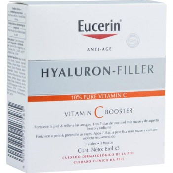 eucerin hyaluron filler vitamin c booster 3 x 8 ml